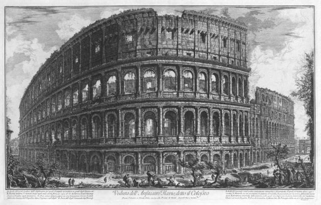 Piranesi Colosseum