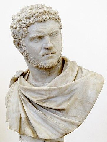 Emperor Caracalla (Image Wikipedia)
