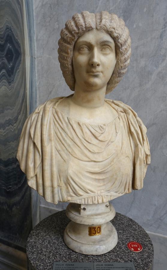 Julia Domna, Vatican Museums  (Image Wikipedia)