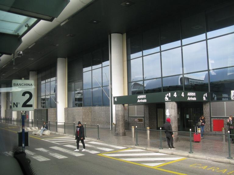 Terminal One, Malpensa Airport, Milan
