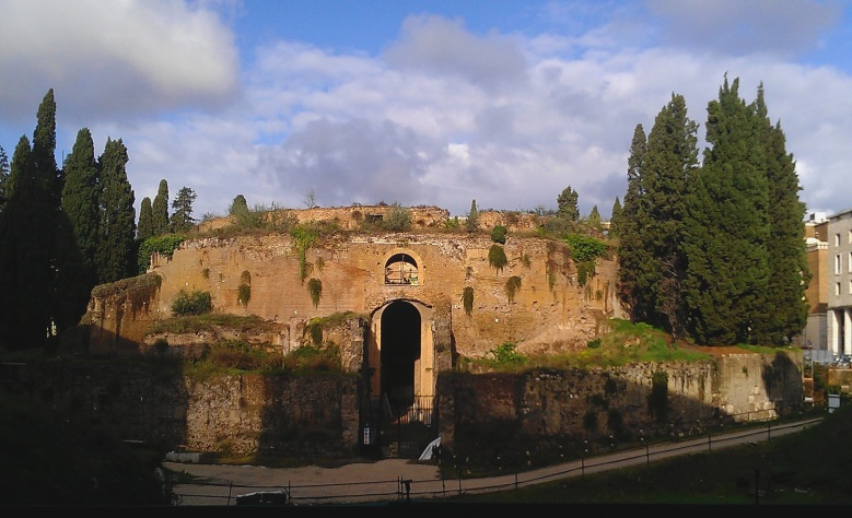 Mausoleum of Augustus, Rome by Ethan Doyle White, Wikipedia