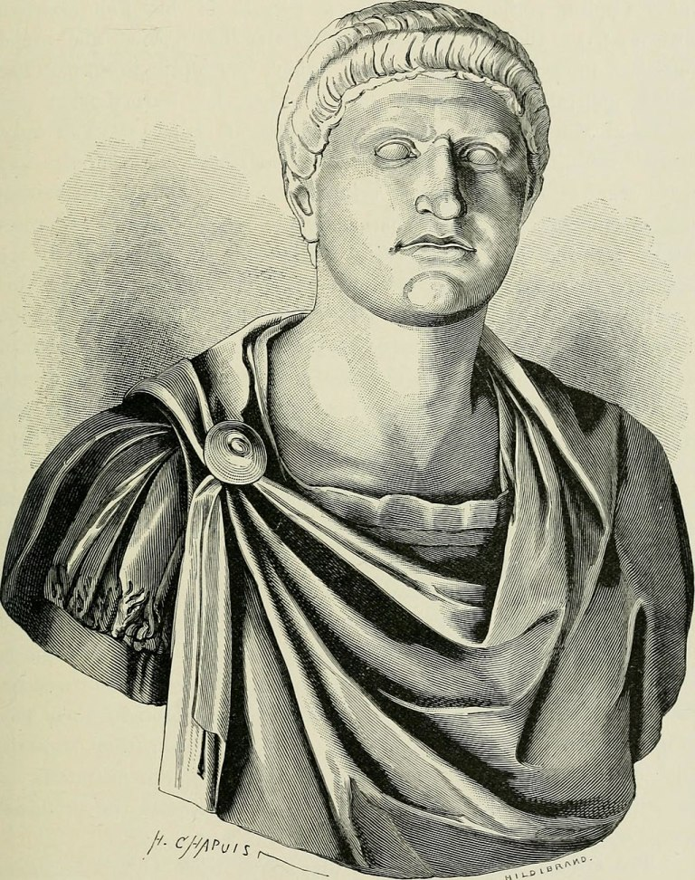 Bust of Emperor Otho (Image CCL)